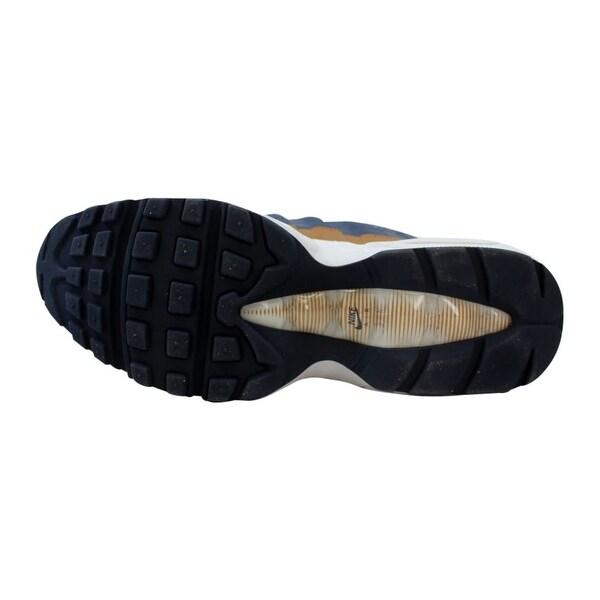 Nike Air Max 95 Premium Wool Thunder Blue 538416 403