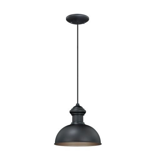 Vaxcel Lighting T0152 Franklin 1 Light Outdoor Pendant