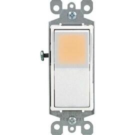 Leviton Wht 1Pole Grnd Switch