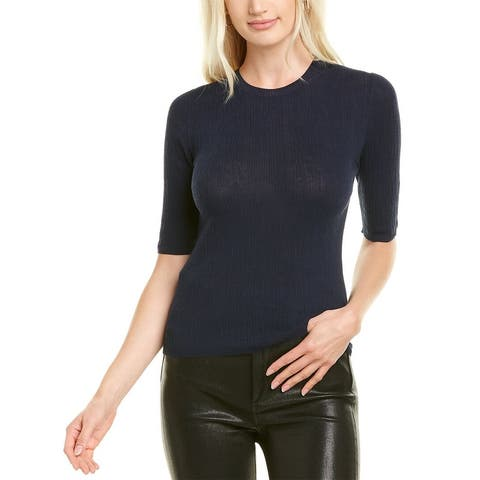 Vince Broomstick Pleat Pullover