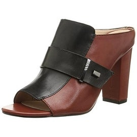 French Connection Womens Kadyn Leather Open Toe Mules - 6