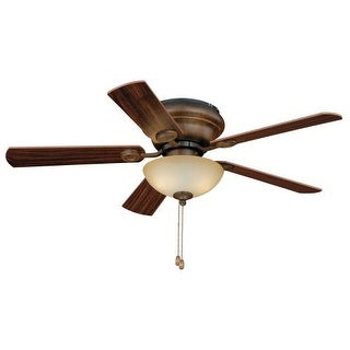 """Vaxcel Lighting F0024 Expo 42"""" 5 Blade Indoor Ceiling Fan - Light Kit and Blades Included"""