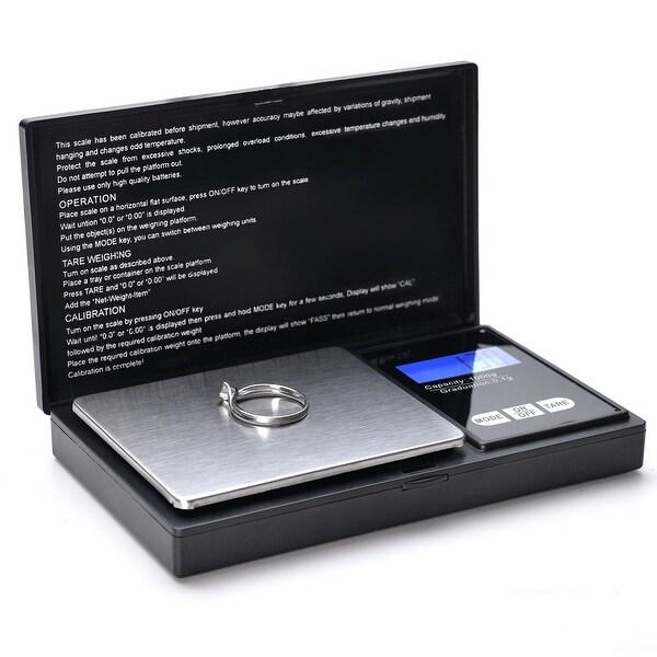 14388bc22af3 Shop 500g x 0.1 Gram Digital Portable Pocket Scale Jewelry / Cooking ...
