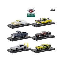 Drivers 6 Cars Set Release 45 In Blister Packs 1/64 Diecast Model Cars by M2 Machines