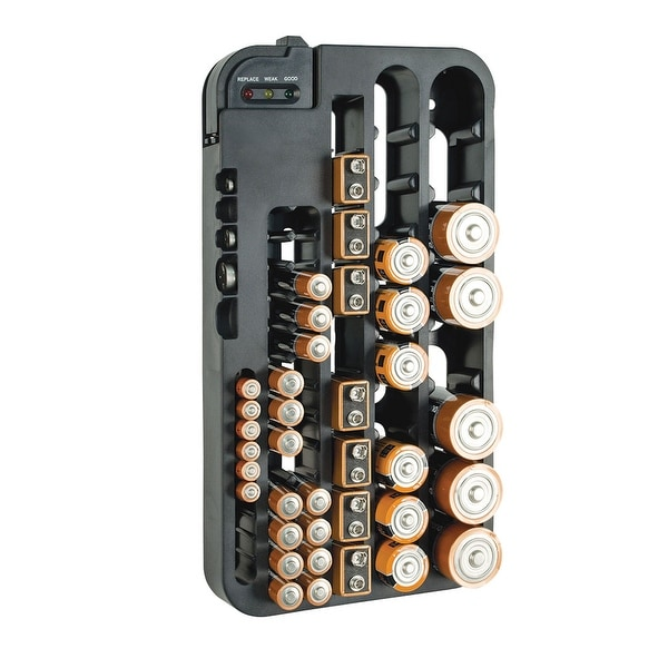 purchase cheap 160cf 8ef99 Battery Organizer Storage Case with Tester