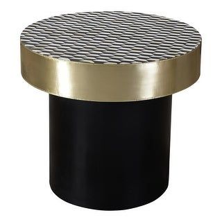 Link to Aurelle Home Modern Geometric Side Table Similar Items in Living Room Furniture
