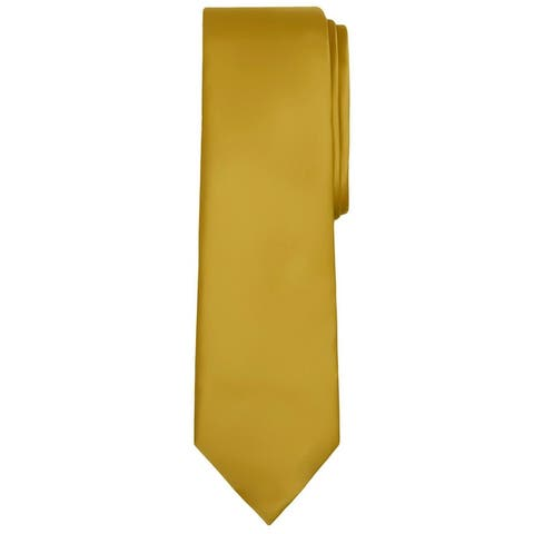 Jacob Alexander Solid Color Men's Regular Neck Tie