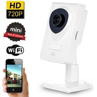 AGPtek HD Wireless Security Camera Monitor Camera Network Surveillance Camera 720P WiFi IP Camera with Night Vision