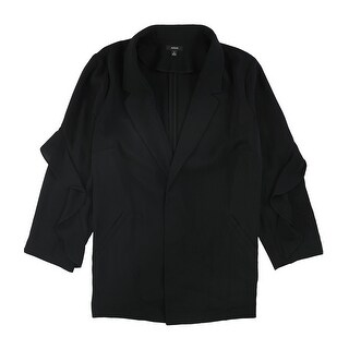 Link to Alfani Womens Flounce Sleeve Jacket Similar Items in Women's Outerwear