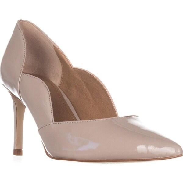 Tahari Parlor Pointed-Toe Heels, Greige