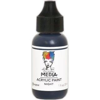 Dina Wakley Media Heavy Body Acrylic Paint 1Oz-Night