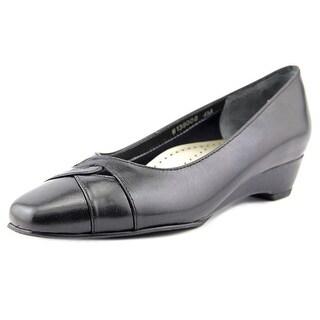 Mark Lemp By Walking Cradles Beauty Open Toe Leather Wedge Heel