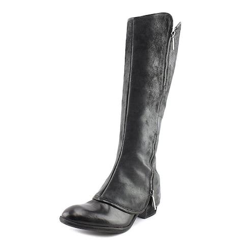 Donald J Pliner Womens devi Leather Almond Toe Knee High Fashion Boots