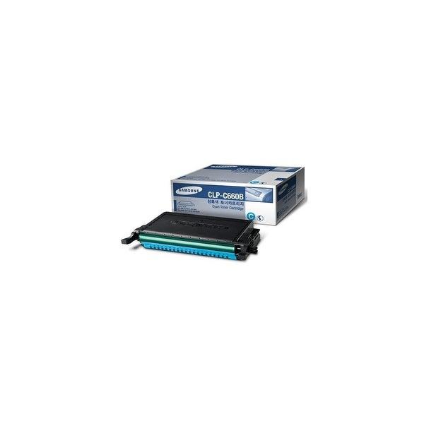 Samsung CLP-C660B High-Yield Cyan Toner Cartridge Toner Cartridge