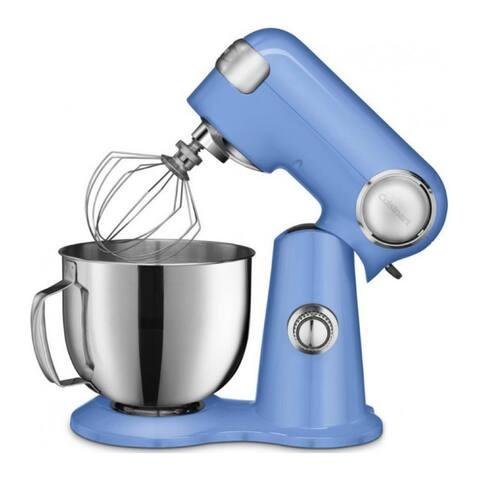 Cuisinart Precision Master 5.5-Quart Stand Mixer (Periwinkle Blue)