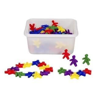 Childcraft Preschool Manipulatives People Connectors, Set of 100