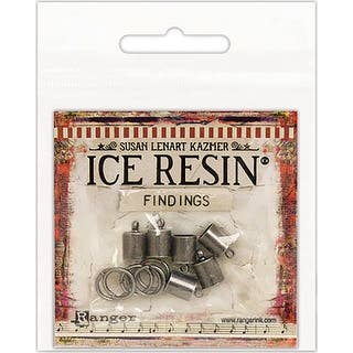 Ice Resin Findings (6) End Caps & (6) Jump Rings 7Mm-Antique Silver|https://ak1.ostkcdn.com/images/products/is/images/direct/5c580a83382bdc97b035c520be0d6c694857c032/Ice-Resin-Findings-%286%29-End-Caps-%26-%286%29-Jump-Rings-7Mm-Antique-Silver.jpg?impolicy=medium