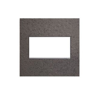 Legrand AWM2GHFFE1 adorne Hubbardton Forge 2 Gang Hand-Forged Metal Wall Plate - 5.3 Inches Wide