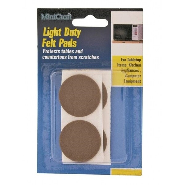 Astounding Prosource Fe 50220 Ps Light Duty Felt Pads 7 8 Theyellowbook Wood Chair Design Ideas Theyellowbookinfo