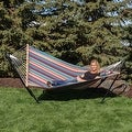Sunnydaze 10ft Hammock Stand and Hammocks - Thumbnail 16