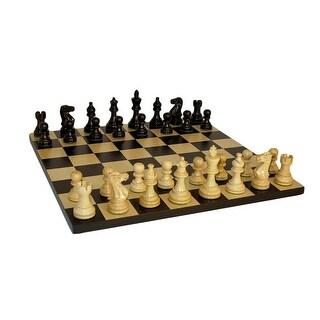 Black American Emperor Basic Chess Set