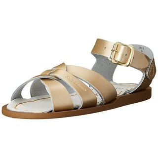 4f59f47d74cf35 Kids Salt Water Sandals Girls sun san Buckle Ankle Strap Gladiator Sandals