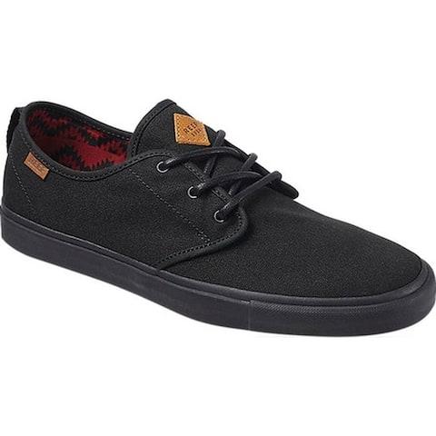 Reef Men's Landis 2 Sneaker All Black Canvas