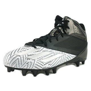 Adidas 5-Star Mid   Round Toe Leather  Cleats