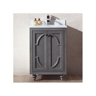 """Miseno MV-SPA24 Spazio 24"""" Free Standing Vanity with Vanity Top and Undermount Sink (2 options available)"""