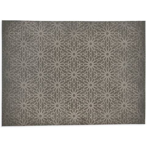LIDIA TAUPE Office Mat By Kavka Designs
