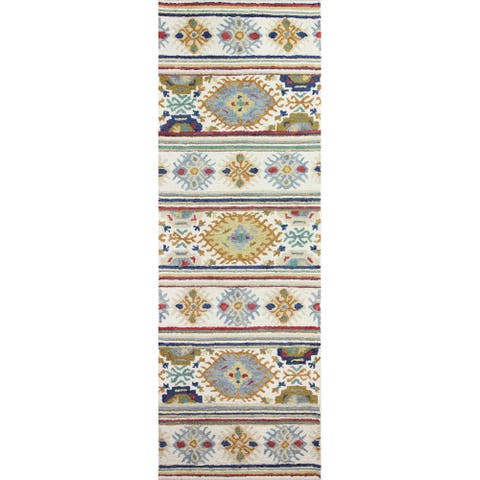 Bashian Nava Transitional Hand Tufted Area Rug