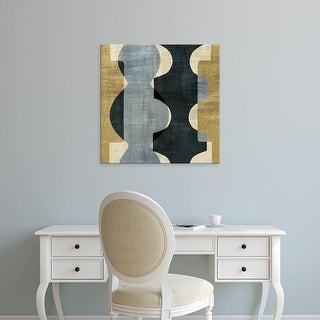 Easy Art Prints Wild Apple's 'Geometric Deco I' Premium Canvas Art