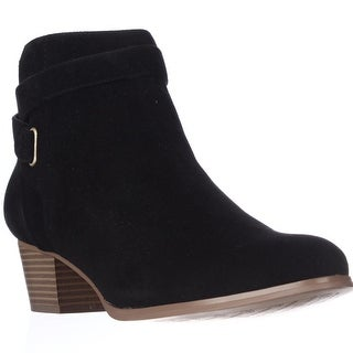 GB35 Oleesia Casual Ankle Boots - Black
