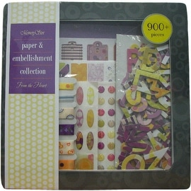 Memory Stor Paper & Embellishment Set From the Heart