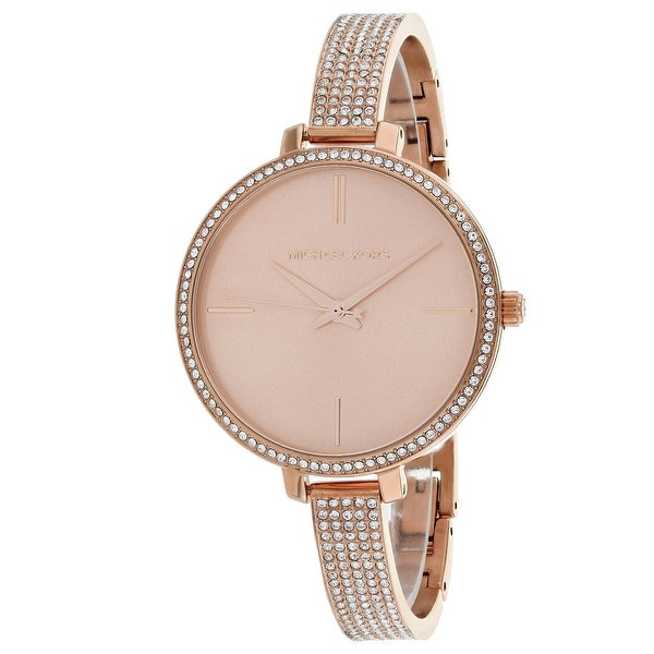 091b6e4c099b Shop Michael Kors Women s Jaryn Rose gold Dial Watch - Free Shipping Today  - Overstock - 25735078