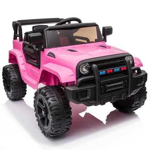 Electric Vehicle, 12V Ride-On Car Truck with 2.4G Remote Control
