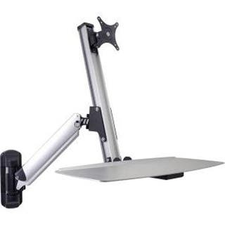 Doublesight Ergonomic Single Monitor Sit / Stand Lift Arm With Key Board Tray, Wall Mount (Ds-Ergo-100Wm) https://ak1.ostkcdn.com/images/products/is/images/direct/5c657b408ecc36339e8e3be87954c30b4b346253/Doublesight-Ergonomic-Single-Monitor-Sit---Stand-Lift-Arm-With-Key-Board-Tray%2C-Wall-Mount-%28Ds-Ergo-100Wm%29.jpg?impolicy=medium