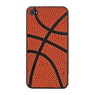 Zagg SportLeather Protective Skin Case Cover for Apple iPhone 4 & 4S (Black on o