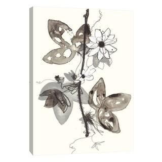 "PTM Images 9-108532  PTM Canvas Collection 10"" x 8"" - ""Transparent Flora 3"" Giclee Flowers Art Print on Canvas"