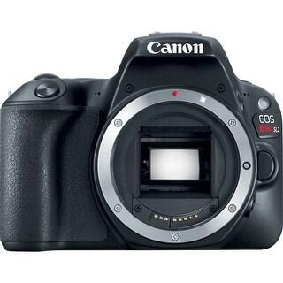 Canon EOS Rebel SL2 DSLR Camera (Black, Body Only) (International Model)