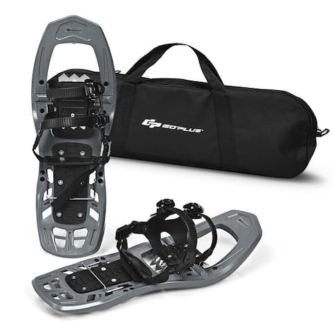 22 inch Lightweight All Terrain Snowshoes w/ Bag Anti Slip