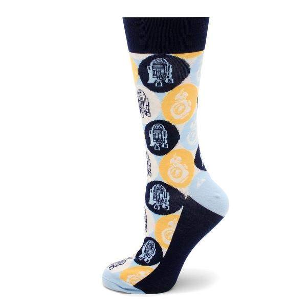 R2D2 and BB8 Pop Art Sock