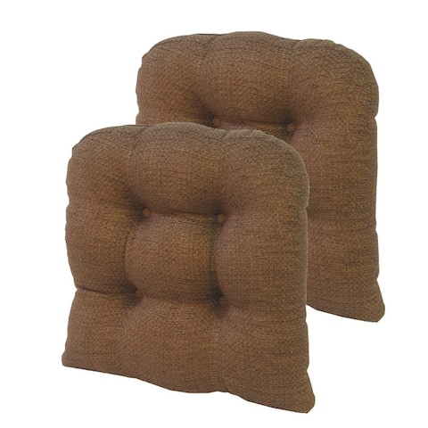 "Gripper Tyson Large 17"" x 17"" Universal Chair Cushion, Set of 2"