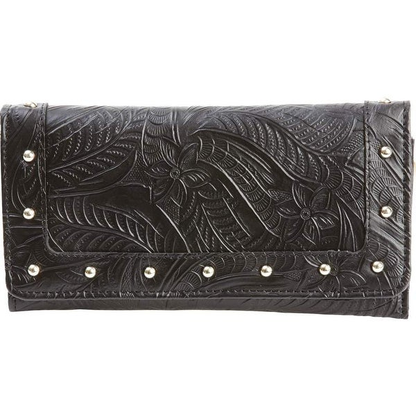 Casual Outfitters Ladies' Solid Genuine Leather Wallet
