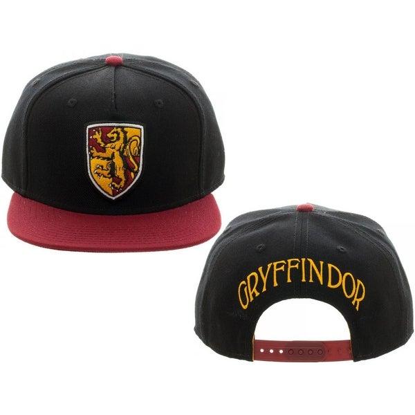 5a1c6d4171960 Harry Potter Gryffindor Crest Snapback