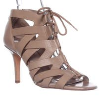 Pour La Victoire Camila Lace-Up Gladiator Sandals, Nude - 10 us