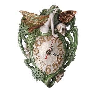 Alchemy Gothic Artemesia Absinthium Wall Clock