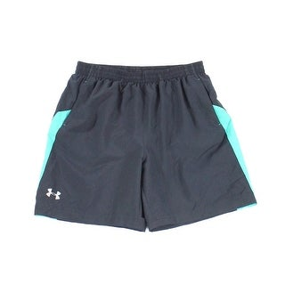 Under Armour NEW Navy Blue Mens Size Large L Launch Heat Gear Shorts