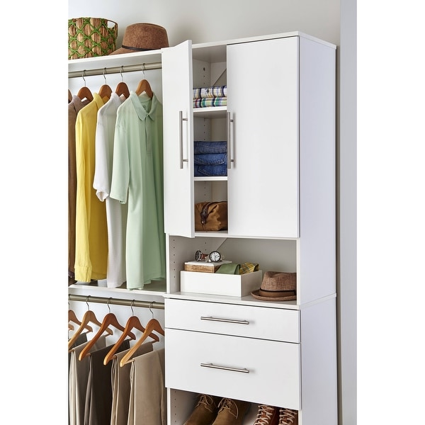 ClosetMaid SuiteSymphony Modern 25-Inch Wide Door Pair. Opens flyout.