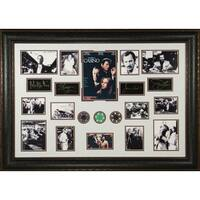 Joe Pesci unsigned Casino 27x39 Photo Engraved Signature Series Leather Framed movieentertainment